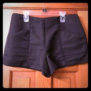 Nice high waisted black shorts